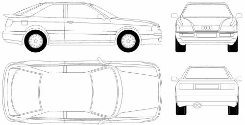 Audi 80 Coupe (1995)