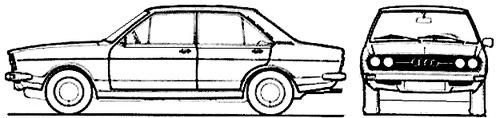Audi 80 GL (1975)