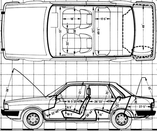 Audi 80 GLS (1979)
