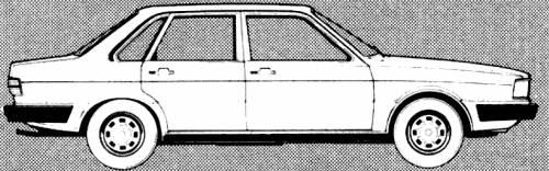 Audi 80 GLS (1980)
