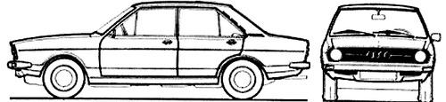 Audi 80 L (1975)