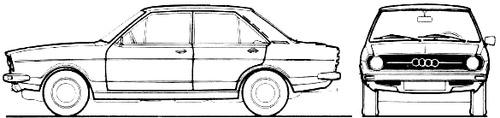 Audi 80 LS (1973)