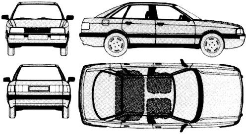 Audi 90 B2 (1984)