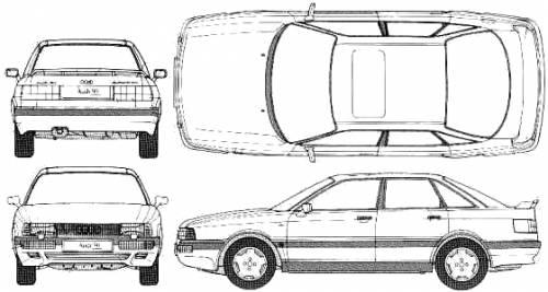 Audi 90 Quattro 20V (1989)