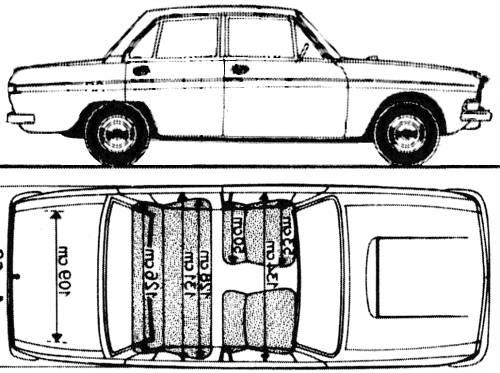 Audi 90 Super (1969)