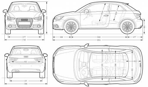 Audi A1 (2010)