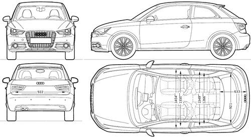Audi A1 (2014)