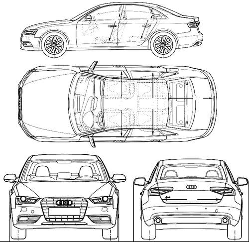 Audi A4L CN (2015)