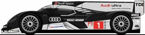 Audi R18 TDI LM (2012)