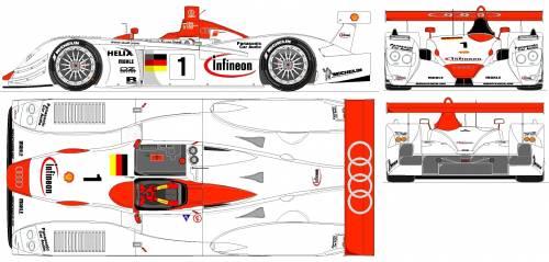 Audi R8 LM (2001)