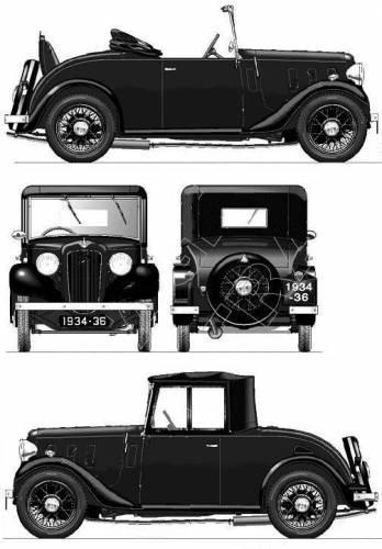 Austin 10-4 Clifton (1935)
