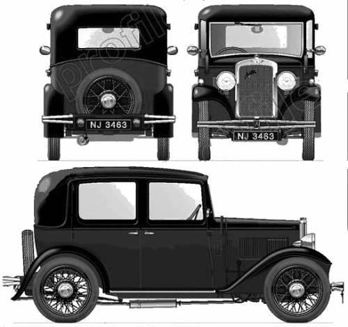 Austin 10-4 Saloon (1932)