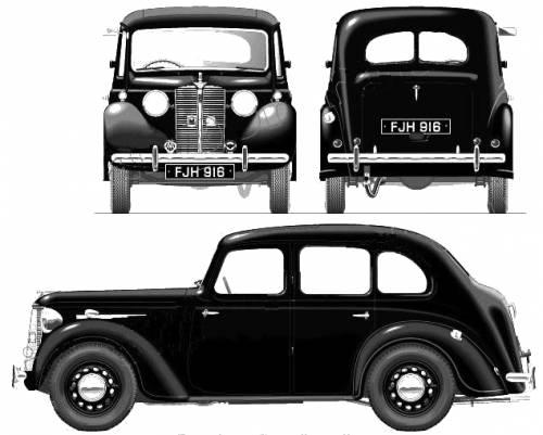 Austin 10 Saloon GRQ (1939)
