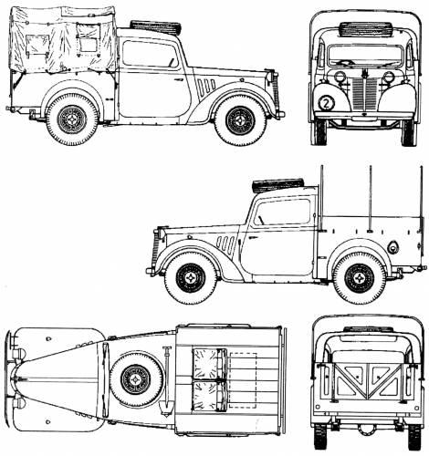 Austin 10hp 4x2 Light Utility Tily (1942)