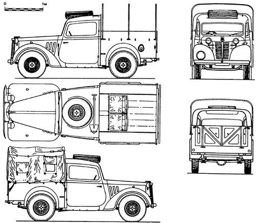 Austin 10hp Light Utility 4x2 'Tilly'