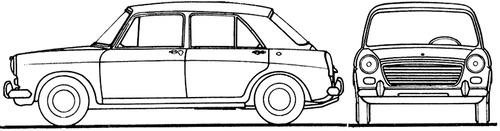 Austin 1100 4-Door (1964)