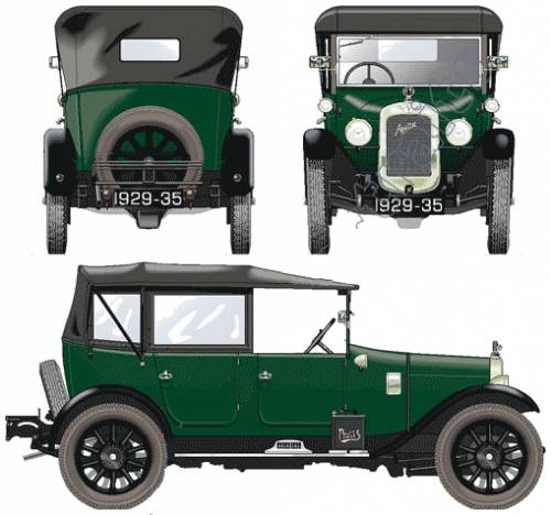Austin 12-4 Clifton Heavy Saloon (1929)