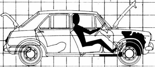Austin 1300 4-Door (1970)