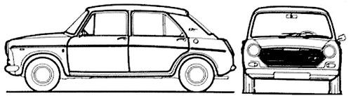 Austin 1300 GT 4-Door (1968)