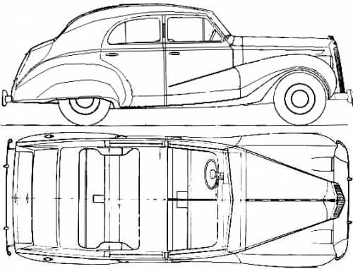 Austin A125 Princrss Saloon (1948)