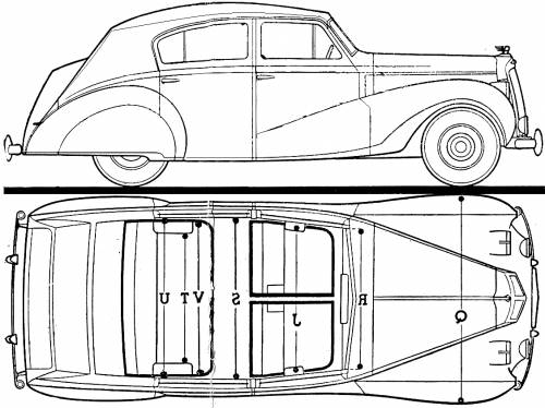 Austin A135 SII Princess Saloon (1952)