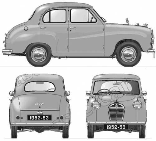 Austin A30 4-Door Saloon (1953)