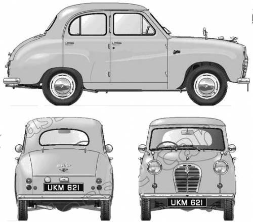 Austin A30 4-Door Saloon (1955)