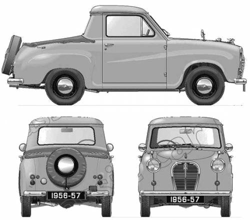 Austin A35 5cwt Pick-up (1956)