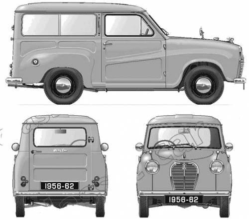 Austin A35 Countryman (1956)
