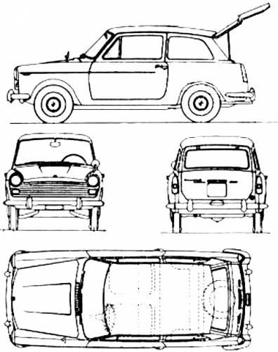 Austin A40 (1960)