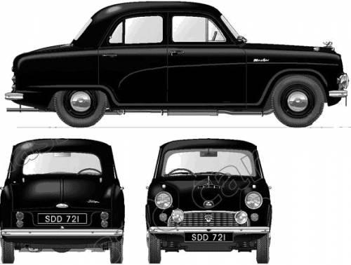 Austin A40 Cambridge (1956)