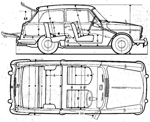 Austin A40 Countryman (1960)