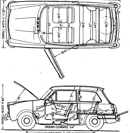 Austin A40 Mk II Super (1962)