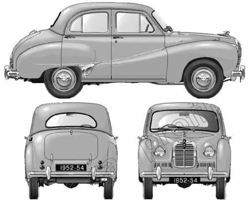 Austin A40 Somerset (1952)