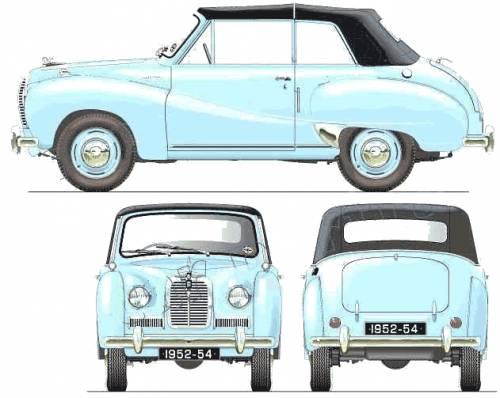 Austin A40 Somerset Convertible (1952)