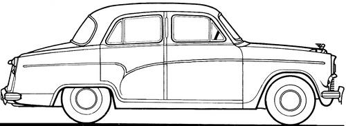 Austin A55 Cambridge (1957)