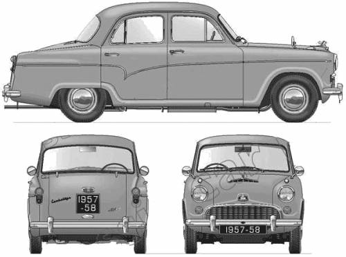 Austin A55 Cambridge (1958)