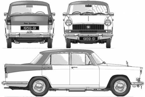 Austin A55 Cambridge Mk.II Farina (1959)