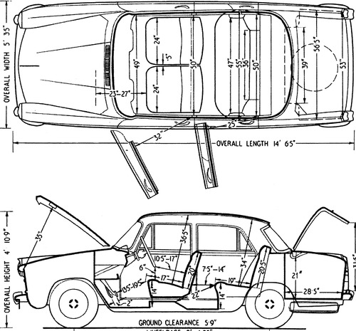 Austin A60 Cambridge (1962)
