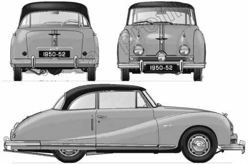 Austin A90 Atlantic Coupe (1950)
