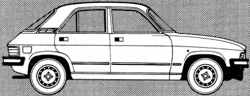 Austin Allegro II 1.1 4-Door (1980)
