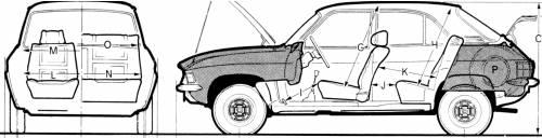 Austin Allgero 1100 1973