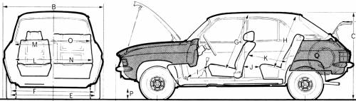 Austin Allgero 1750 Super Special SS 1973