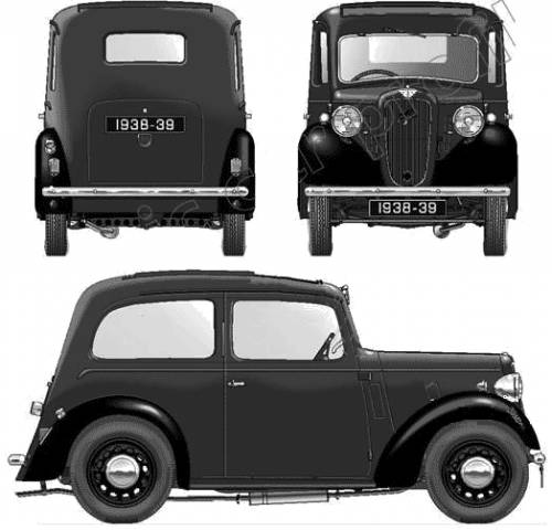 Austin Big Seven 2-Door (1938)