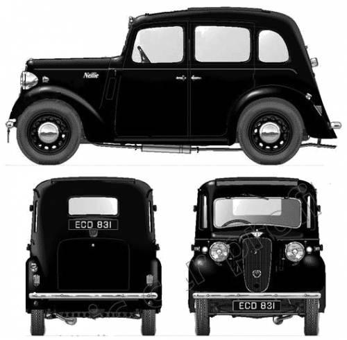 Austin Big Seven 4-Door (1937)