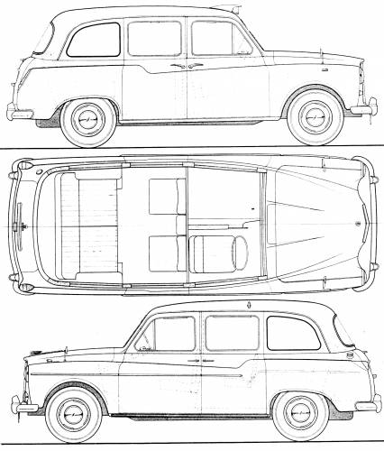 Austin FX4 Taxi 190
