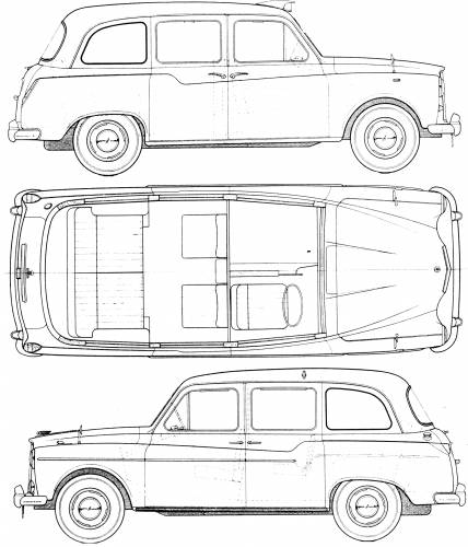 Austin FX4 Taxi (1960)