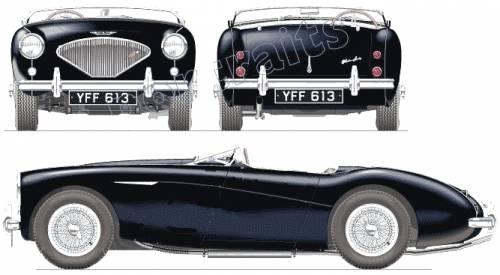 Austin Healey 100-4 (1955)