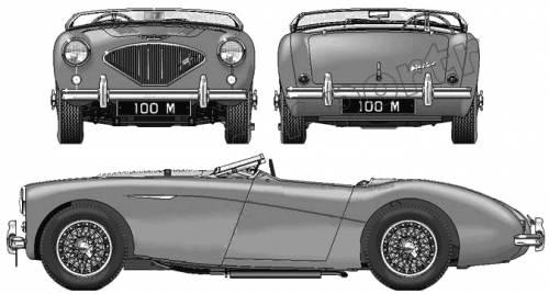 Austin Healey 100-4 Le Man (1954)