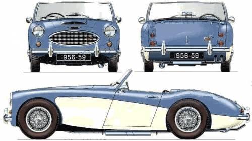 Austin Healey 100-6 BN6 (1956)